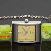 Watch Yellow Foci Lime Band