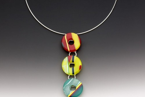 #60 Life Savor Triple Disc Necklace