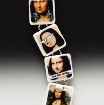 #61 Mona Lisa Image Bracelet