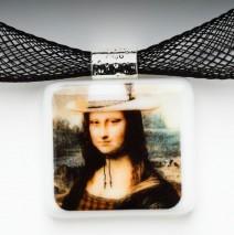 """#61 Mona Lisa """"Cowgirl"""" Pendant"""
