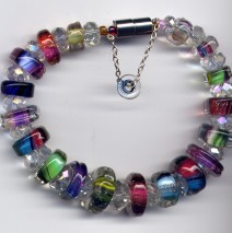 Furnace Bead Multi Color Bracelet