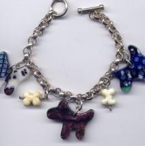 Teddy Charm Bracelet