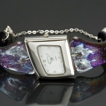 #28 Amethyst & Silverleaf Watch