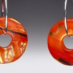 #60 Tangerine Earrings