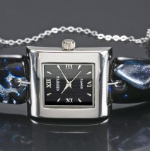 #19 Midnight & Silver Unisex Watch